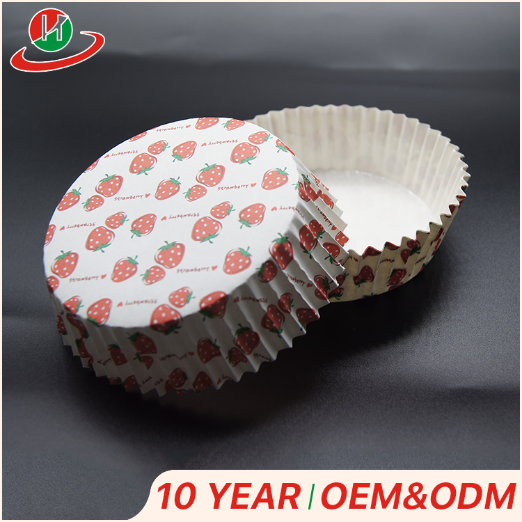 Factory Direct sale custom greaseproof cup cake wrappers liners disposable bread paper baking cups for cakes