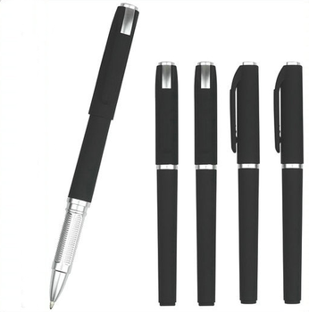 office & school gift pens scrub neutral pen black spray gel ink pen