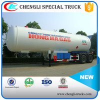 AEME STANDARD 39000 LITER (39 m3) 16.38TONS LAODING 2 AXLES lpg gas transport trailer