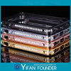 Luxury aluminum metal bumper for iphone5s diamond case with paypal accepted