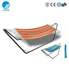 Outdoor Leisure Camping Hammock with Steel Stand