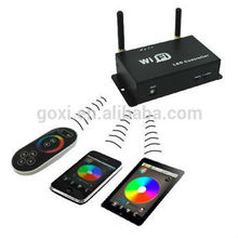 2015 newest wifi wireless rgb led strip remote touch controller programmable