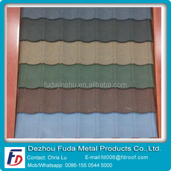 Double Layer Metal Roof Tiles for Africa