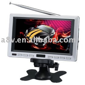 7 Inch Screen Portable LCD TV with USB/SD/DVB-T