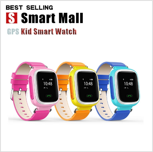 SOS Function Remote GPS Tracking Waterproof Hand-free Digital Kids Smart Watch with Real-time GPS Monitoring