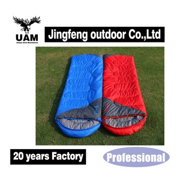 Custom high quality portable camping outdoor sleeping bags adult