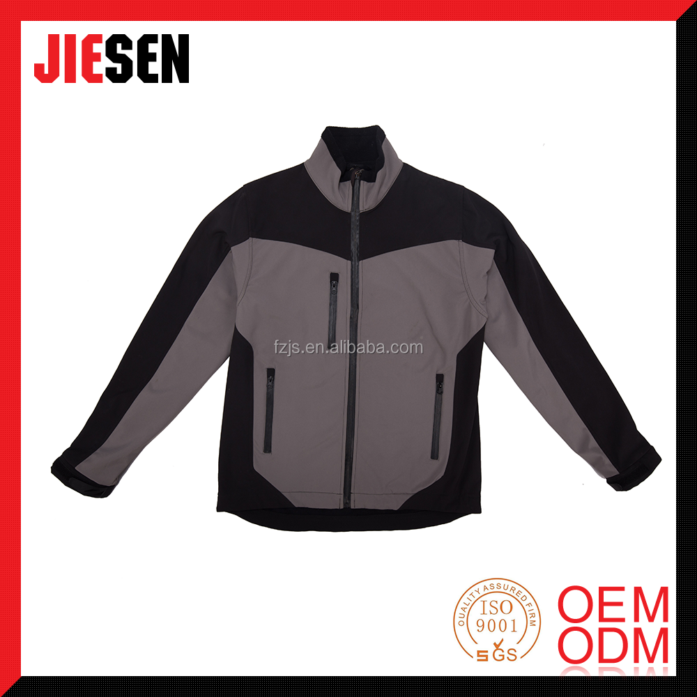 Promotional outdoor waterproof softshell jacket