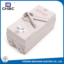 CHBC 63A 500V Portable Function Of Waterproof Isolator Change Over Switch