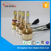 SEMA supplier 36w high power headlight led 9006 bi xenon hid kits 6000k mazda 6 car lamp bulbs waterproof