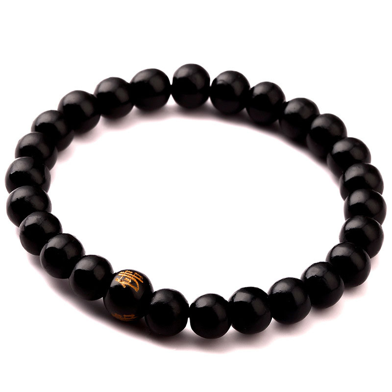 Newest Handmade Jewelry fashion Style Three Color  Wood Beads Men Bracelet