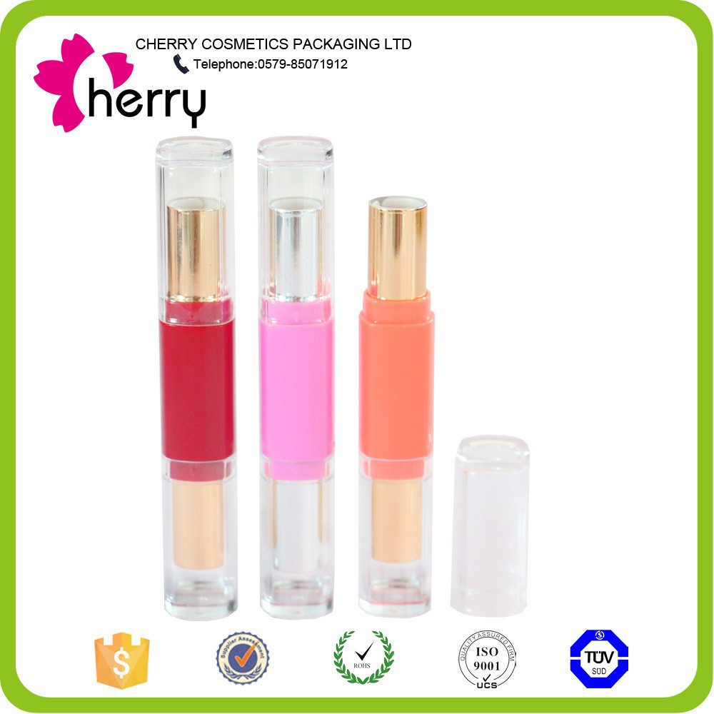 NEWEST double end lipstick tube