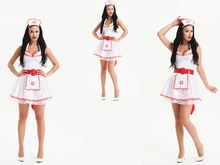 2016 factory price japanese nurse sexy cosplay costume halloween costume