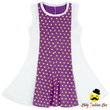 Summer Frock Designs Pictures Purple Polka Dots Super Soft Sleeveless Baby Girl Frock Fancy Smoking Dress For Kids