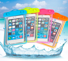 Factory Wholesale Cell Phone Accessories Universal Waterproof Swimming Mobile Phone Bag Case for Iphone 6/7/S8