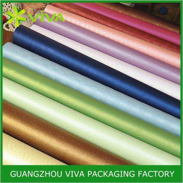 Handmade Glossy Lamination Printing wholesale foil gift wrapping paper