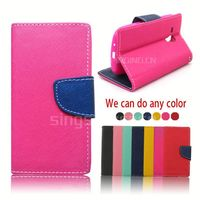 China Manufacturer wallet leather mobile phone case cover for Explay Craft