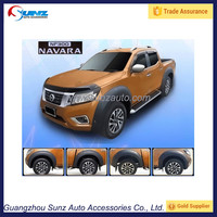 Fit 2015 NP300 Navara Fender Flares For Nissan2014 Pickup 4 Doors Black Accessories Off Road Big Fender Flare Trucks Wheel Arch