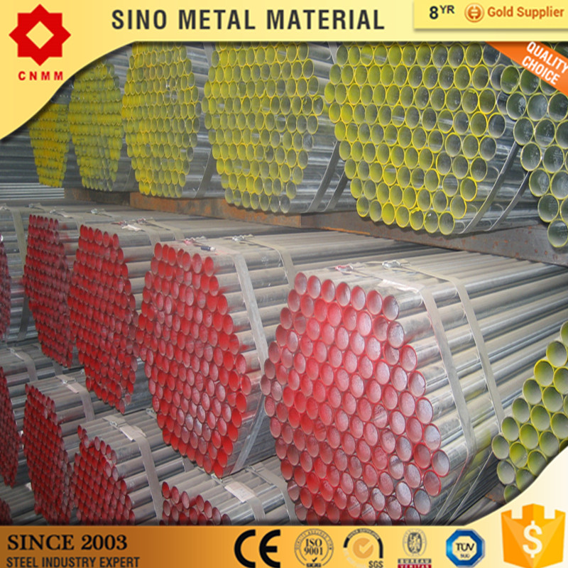 pre-galvanized round steel pipe\/tube bevels end pre galvanized seamless steel pipe galvanized pipe