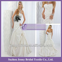 PB075 2013 New style Strapless Taffeta Butterfly Design white Wedding Dresses for pregnant woman