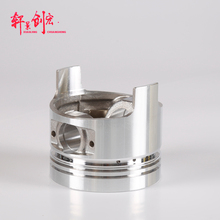 China good manufacture to diesel engine parts , Aluminum piston
