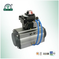 pneumatic actuator with limit swithch wuxi hua machine machinery manufacturing