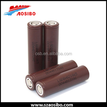 Brown authentic 3.7v lghg2 18650 3000 mah 35a e cig battery lg 18650 hg2 high drain lg chem lg inr18650 hg2 3000mah