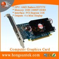 AMD ATI Radeon HD7570 PCIe 4 Display ports Low Profile DDR3 2GB Multi-display Graphic Card