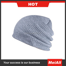 Men Winter Baggy Slouchy Oversize Beanie Hat Loose Knit Skull Ski Cap