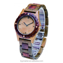 Fashion Hot Sale 100% Natural Wood Wrist Watch