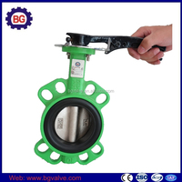 Factory Price Manual Actuated Butterfly Valve