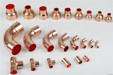 Wholesale Refrigeration Copper Fitting Pipe Copper Pipe Fitting