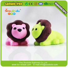 Promotional Cute 3D Lion puzzle Eraser