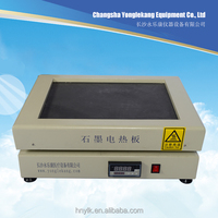 YKM-400C small graphite heating element teflon covered electric hotplate for laboratory