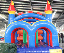 Giant inflatable obstacle course, inflatable floating obstacle, inflatable water obstacle course for sale