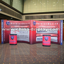 Popular item magnetic detachable trade show stand exhibition booth