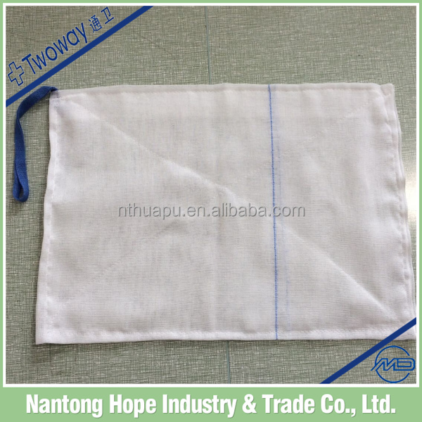Absorbent Cotton Gauze Lap Sponge unwashed