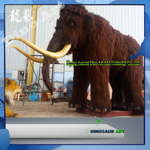 Iceage Exhibition Life Size Animated Mammoth statues animal model for sale