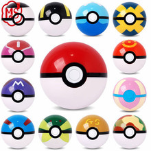 Free sample action figure toy pokemon party supplies ,7CM pokeball with figure