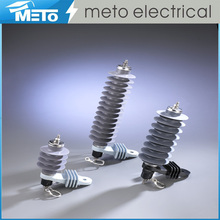 Meto high voltage 12kv mental oxide low price surge arrester lightning arrester