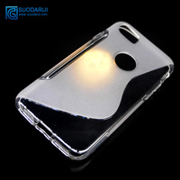 New arrival S line tpu case for iphone 7 flexible tpu soft gel cover case