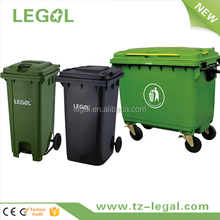LD-240A-2 240 Liter Top-selling Office Building HDPE Plastic Container