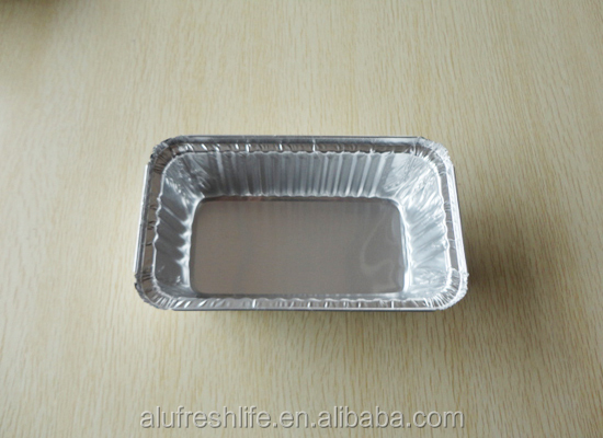 Small Chinese factory made food grade aluminum foil container