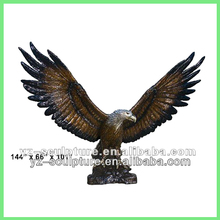 hot sale cast Brass Animal Eagle Statue
