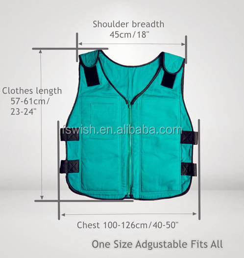 100% Cotton Ice Cooling Vest in Safety Clothing