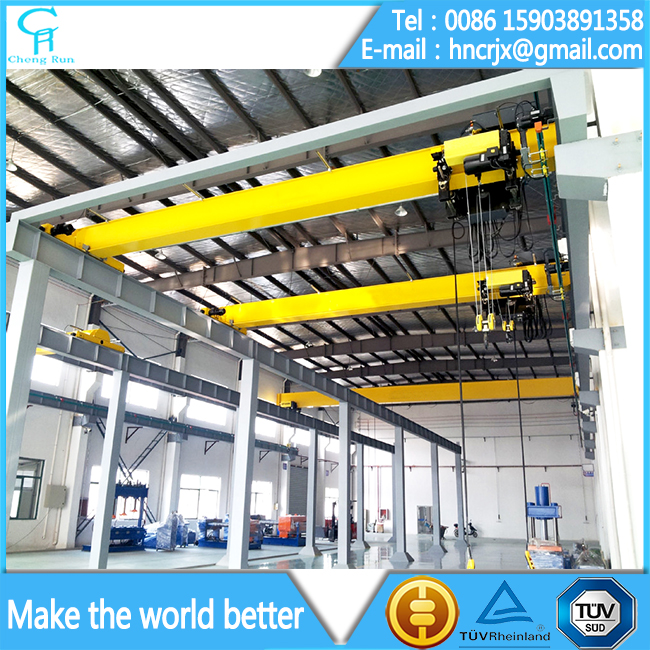 Single Girder Electric Overhead Traveling Cranes 5 Ton