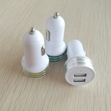 Wholesale Dual EV Car Mobile Charger for Phone Accessories