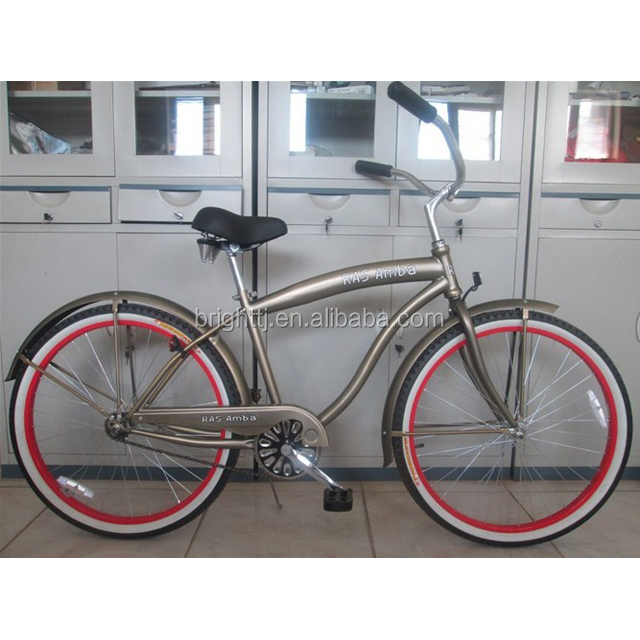 Hot selling Cheap Men beach cruiser with single speed