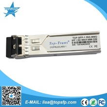 Dell Compatible sfp 1.25G 850nm Transceptores sfp Top-SFP-1.25G-MMD