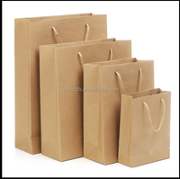cheap brown kraft paper bag by China supplier