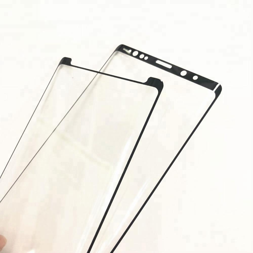 Note 9 Case Friendly Screen Protector 3D Curved Best Tempered Glass Screen Protector For Galaxy Note 9 note 8 s8 s9